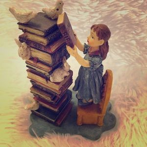 Ladder to Learning Figurine